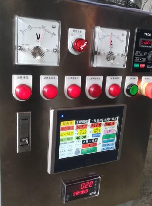 圖三、數位程控系統具觸控面板方便參數設定