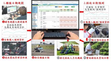 產期產量預測作業模式之應用